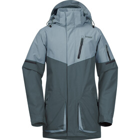 Bergans Knyken Insulated Jacket Youth, forest frost/light forest frost